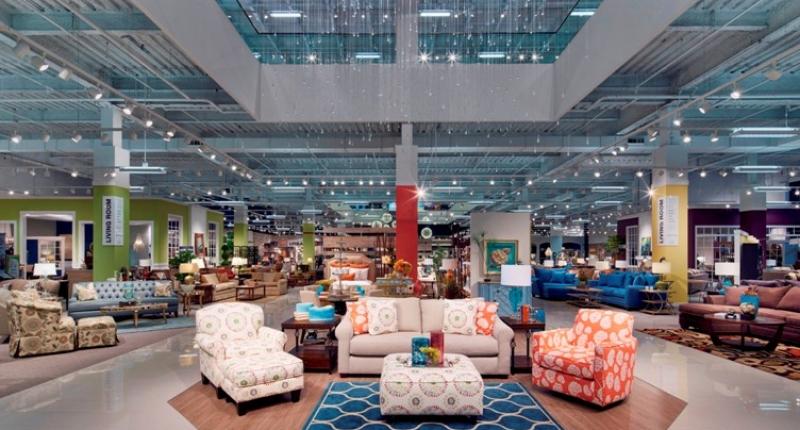 ... Art Van Furniture Atrium TN; Interior Image_Entry ...